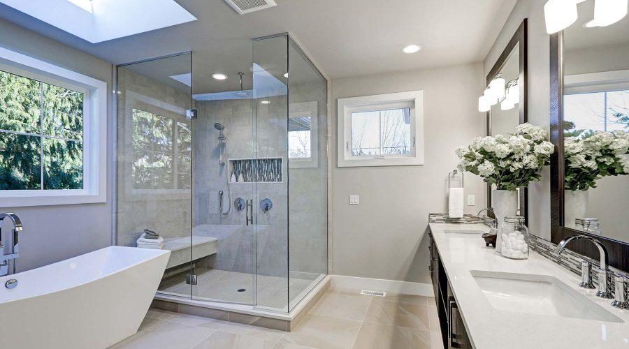 bigstock-Spacious-Bathroom-In-Gray-Tone-166085375